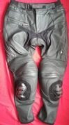 "LINDSTRANDS CORNET STR LEATHER MOTORCYCLE TROUSERS UK 34"" waist SIZE L"